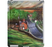 View from St James Warter in the Wolds iPad Case/Skin