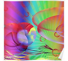 Be Happy -  Abstract35 +wall art +Clothing & Stickers+  IPhone Cases + Pillows & Totes+Laptop Skins+Mugsּ+Cards  Poster