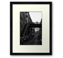 Call me in the morning Framed Print