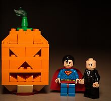 Halloween With Superman and Lex Luthor  by garykaz