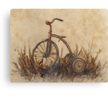 The Old Trike Canvas Print