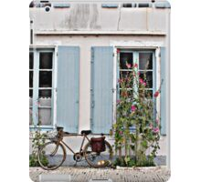 A lonely bicycle iPad Case/Skin