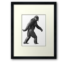 hippie bigfoot Framed Print