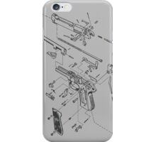 beretta iPhone Case/Skin
