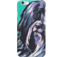 Tibetan Terrier Bright colorful pop dog art iPhone Case/Skin