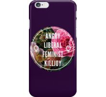 Angry Liberal Feminist Killjoy iPhone Case/Skin