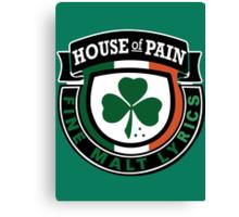 House of Pain Irish Canvas Print