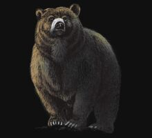 The Great Bear - A fierce protector Kids Clothes