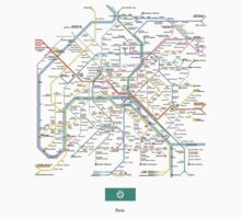 paris subway by erreeme