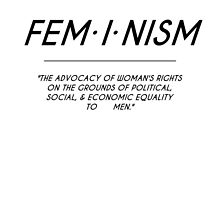 FEMINISM DEFINITION by Kyle Sanford