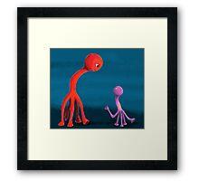Mabel and Rennie Framed Print