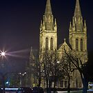 St Peter's Cathedral at Night by pablosvista2