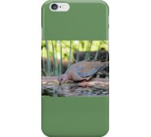 Drinking water iPhone Case/Skin