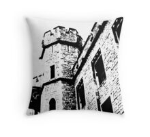Tower of London Pen and Ink Throw Pillow