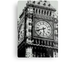 Big Ben Face - Palace of Westminster, London  Metal Print