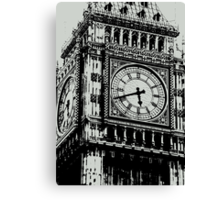 Big Ben Face - Palace of Westminster, London  Canvas Print