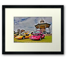 twin Purvis Eureka at Volksfest on Elder Park Framed Print