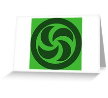 Forest Medallion (large) Greeting Card