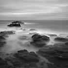 Flinders - Blowhole Track beach by Jim Worrall