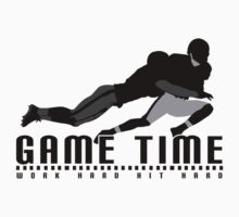 Game Time - Tackle (White) Kids Clothes
