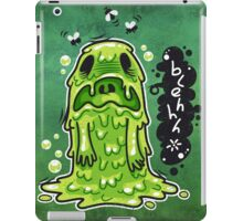 Cartoon Nausea Monster iPad Case/Skin