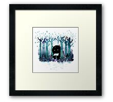 A Quiet Spot Framed Print