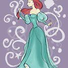 Ariel The Little Mermaid by joshda88