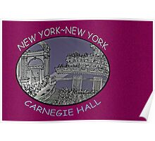 NYC-Carnegie Hall Poster