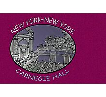 NYC-Carnegie Hall Photographic Print