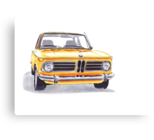 BMW 2002 Tii Canvas Print