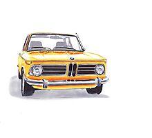 BMW 2002 Tii Photographic Print