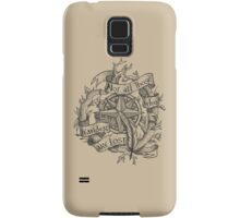 """Not all those who wander are lost"" Samsung Galaxy Case/Skin"