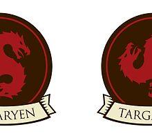 Game of Thrones - House Targaryen Mug by housegrafton