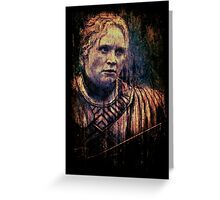 Brienne of Tarth Greeting Card