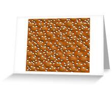 Crisp bread Greeting Card