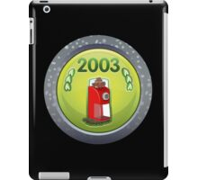 Glitch Achievement executive in charge of spice reformatation iPad Case/Skin