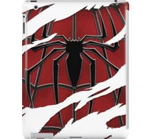 Spider inside red suit ripped torn iPad Case/Skin