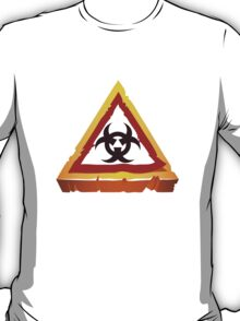 virus hazard sign T-Shirt