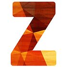 Letter Z - Wood Initial by TabithaBianca