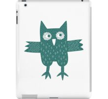 Green Owl iPad Case/Skin