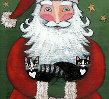 Santa's Cats by Ryan Conners