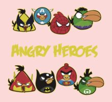 angry heroes Kids Clothes