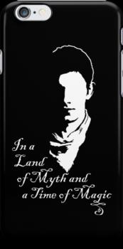 Merlin Myth - white by PurpleSparklies