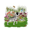 Dalmatian Puppy, tote, pillow  by LoneAngel
