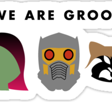 We Are Groot Sticker