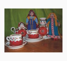 Russian Doll Tea Time Kids Clothes