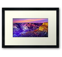 Grand Canyon - Magic Moment Framed Print