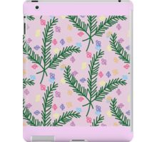 Pine flowers iPad Case/Skin