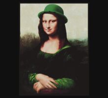 Lucky Mona Lisa - St Patrick's Day Kids Clothes