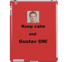 Keep calm and Gustav ON! iPad Case/Skin